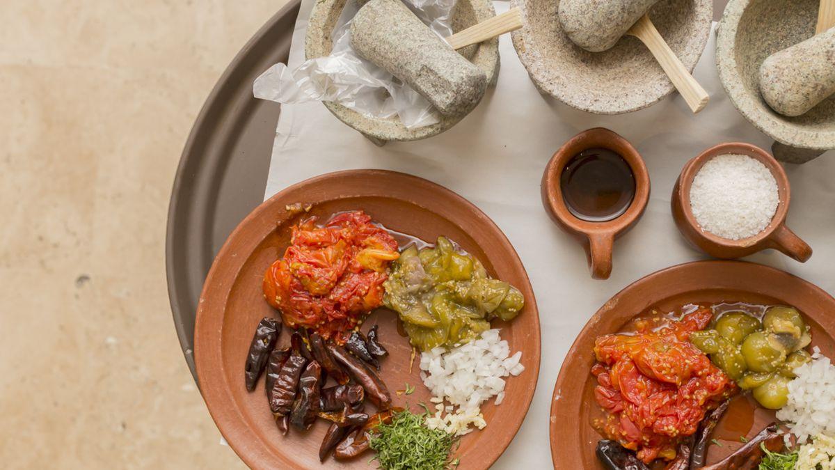 Oaxacan flavors at Guzina Oaxaca