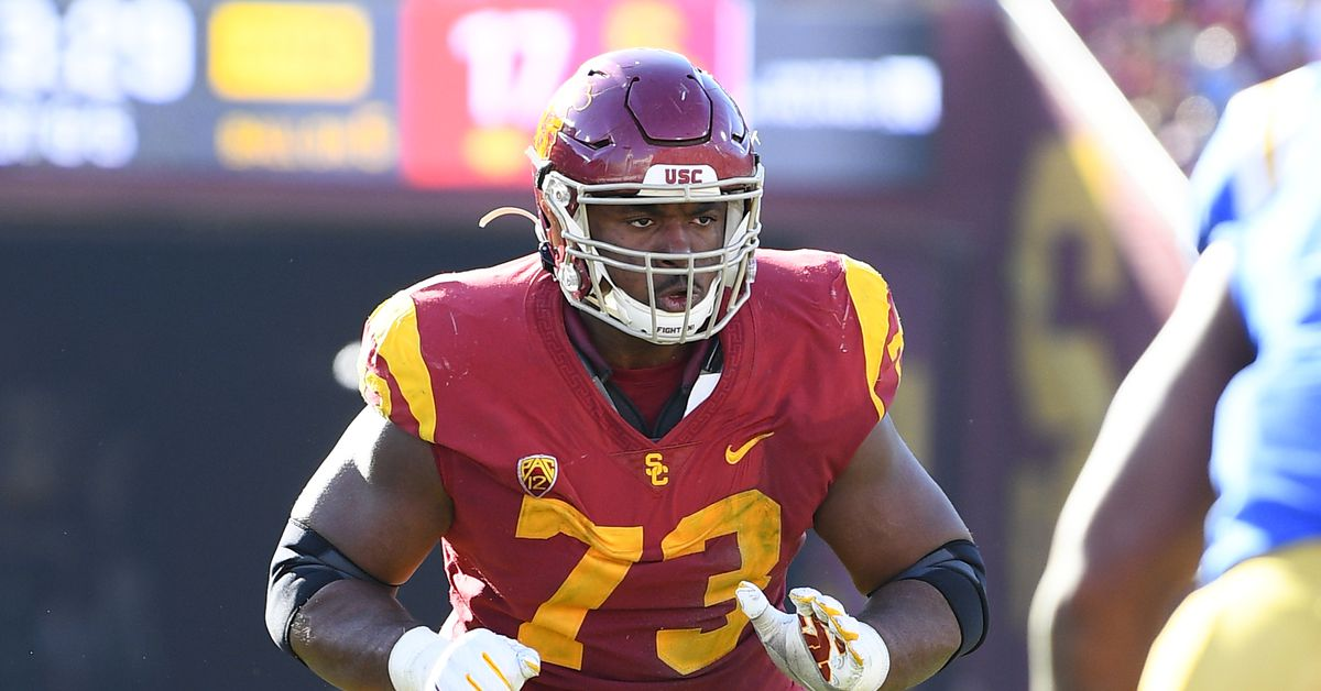 2020 NFL Draft Profile: USC LT Austin Jackson