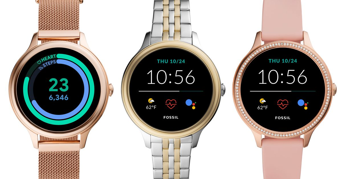 Fossil's new Gen 5E smartwatches are smaller and more affordable – The Verge