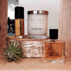 """<strong>1:25pm</strong>: Stopping by my friend's booth to indulge in my favorite scent from her line <a href=""""http://blog.mcmcfragrances.com/"""">MCMC Fragrances</a>."""