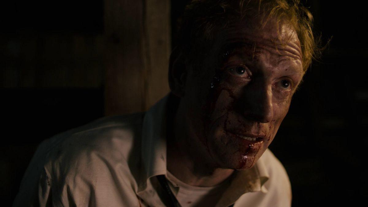 True Detective season 3 episode 7 Harris James in the barn