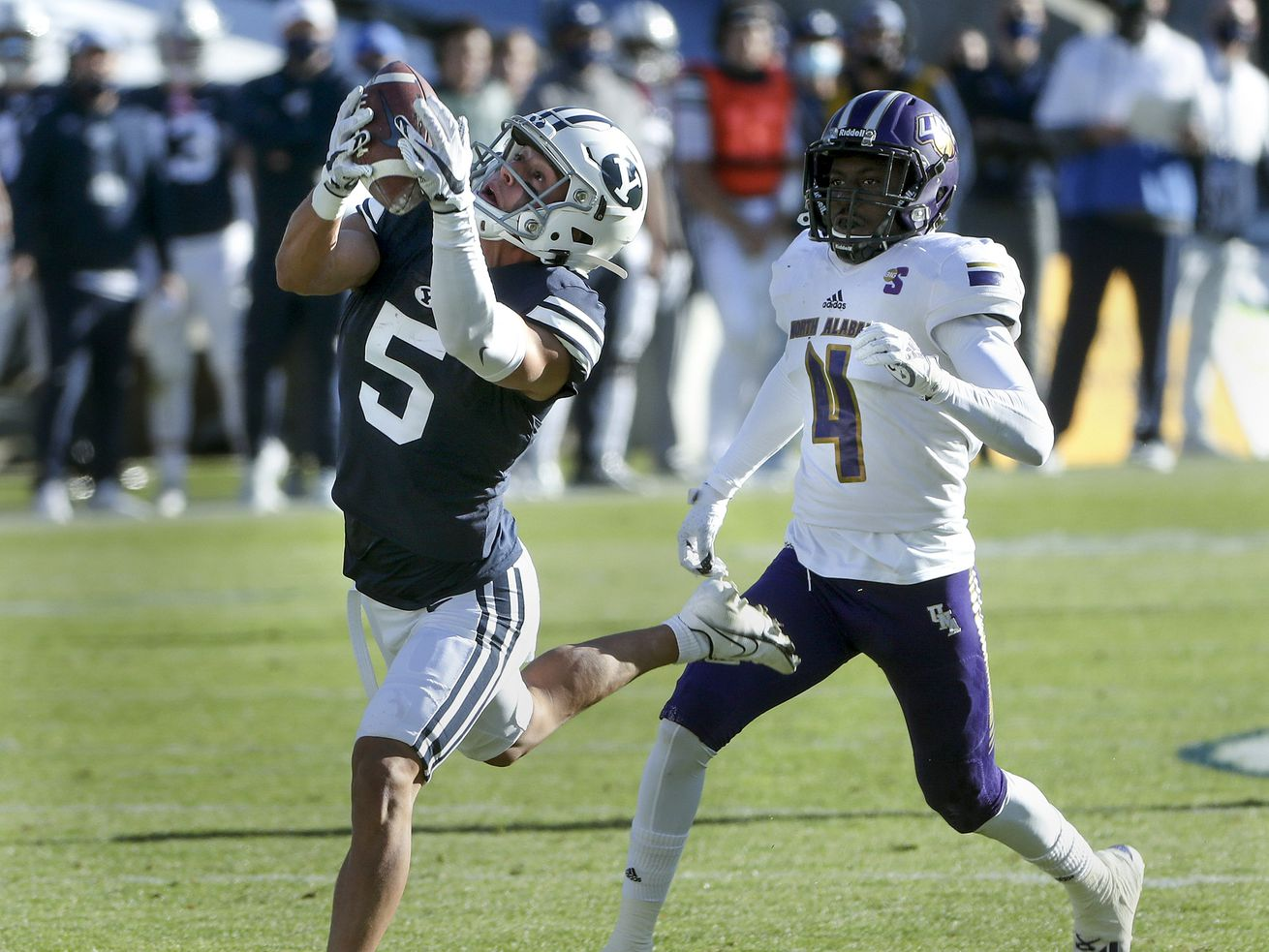 BYU's offense was brilliant, while its defense left room for nitpicking in 66-14 waxing of North Alabama