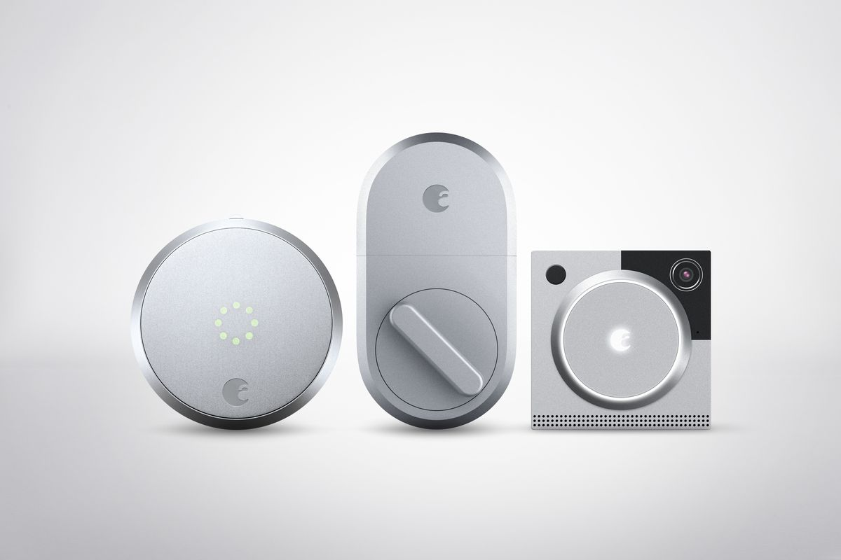 A Smart august's redesigned smart lock boasts better battery life and