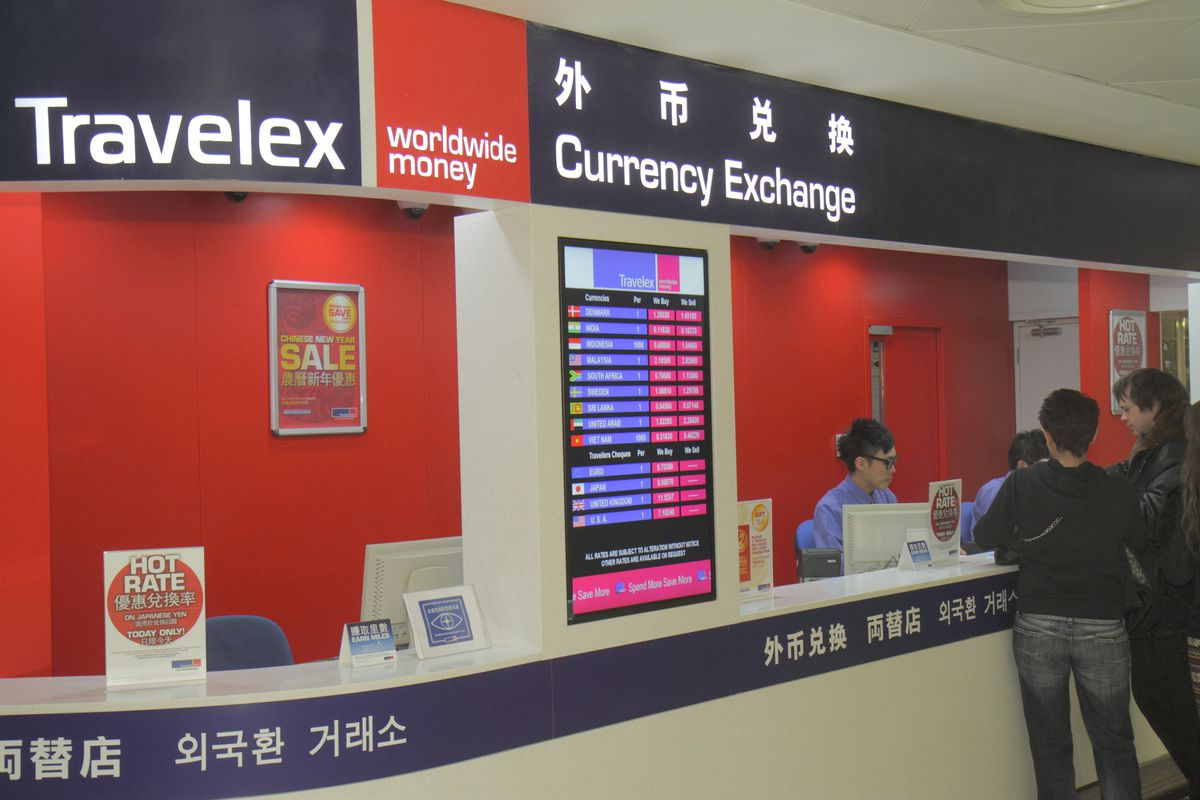 Travelex Currency Exchange Is Offline