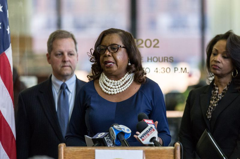 Circuit Court Clerk Dorothy Brown in 2018.