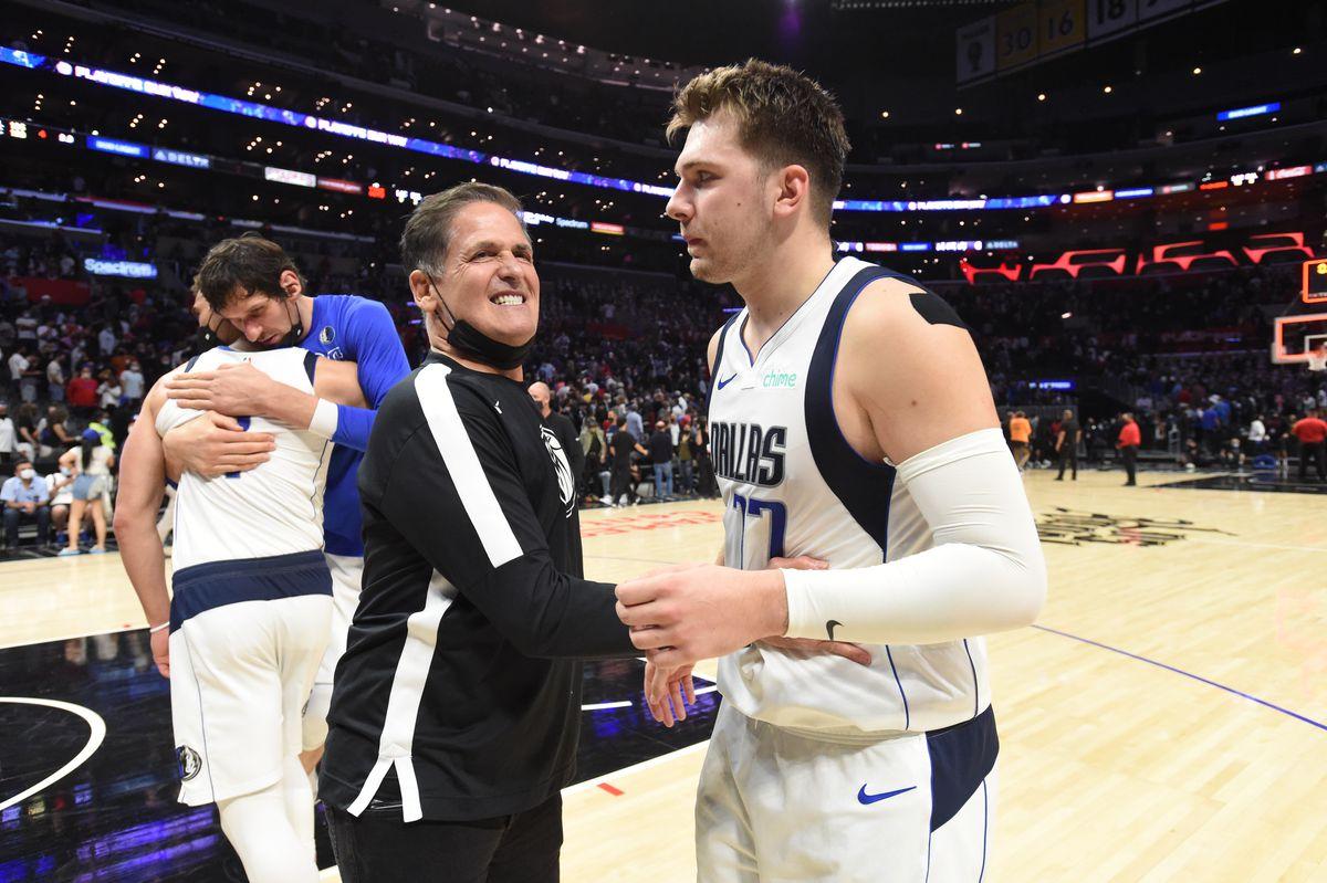 2021 NBA Playoffs - Dallas Mavericks v Los Angeles Clippers