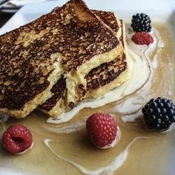 """Start the day with brunch at <a href=""""http://ladygregorys.com/index.html"""">Lady Gregory's</a> [5260 North Clark Street]. """"This is one of my favorite restaurants in the area right now,"""" says Maynard. """"They have great comfort food, like lobster mac and chees"""