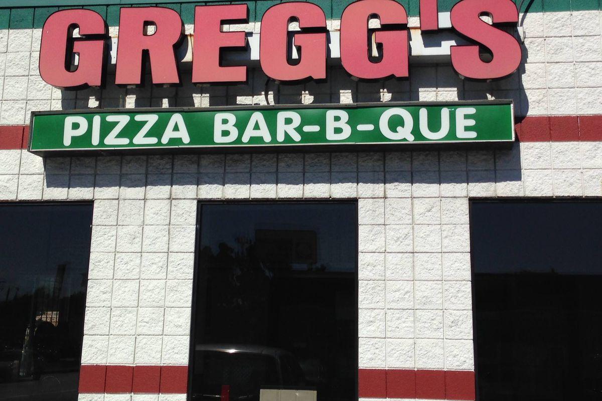 Gregg's Pizza.