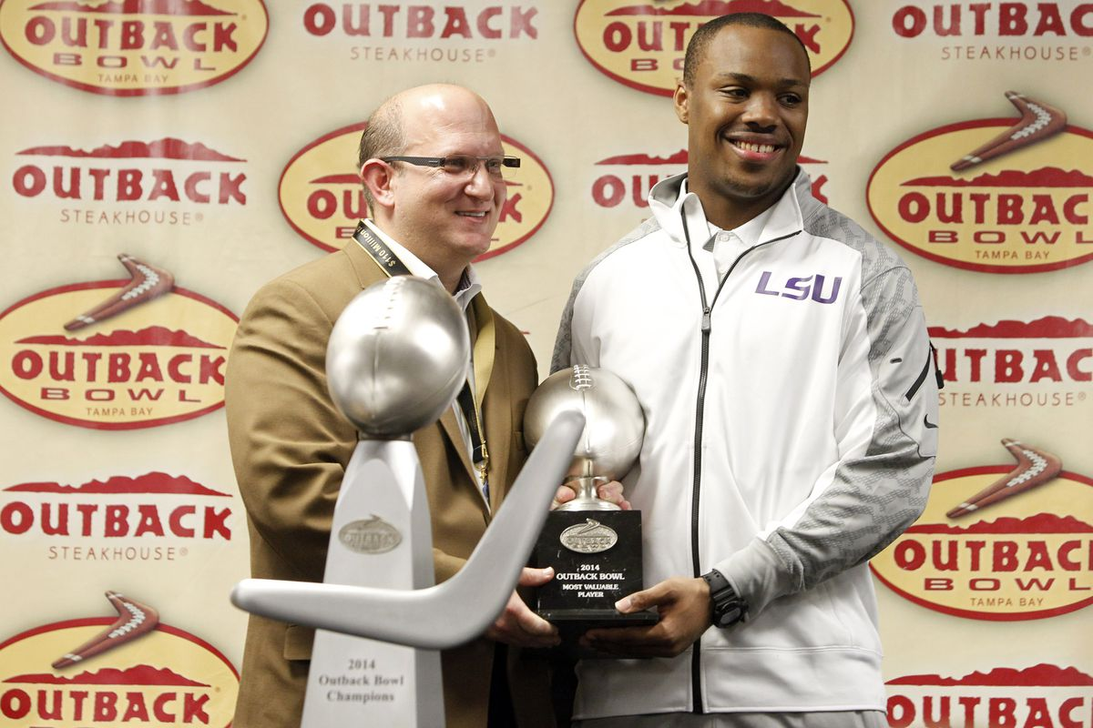 I suppose I am surprised the trophy is not a Bloomin' Onion