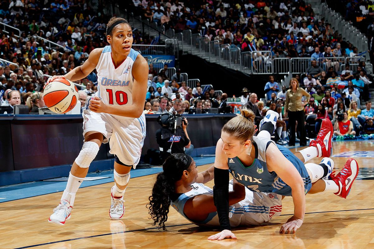 Lindsey Harding is a former Mystics point guard, and she's one of the top unrestricted free agents that Mike Thibault may be thinking about acquiring.