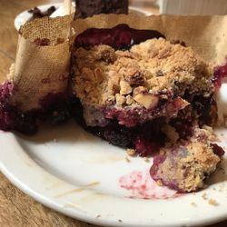 """Eva's Bakery's berry streusel, which, reviewer Hannah McDonald called a """"clear winner for everyone in our group."""""""