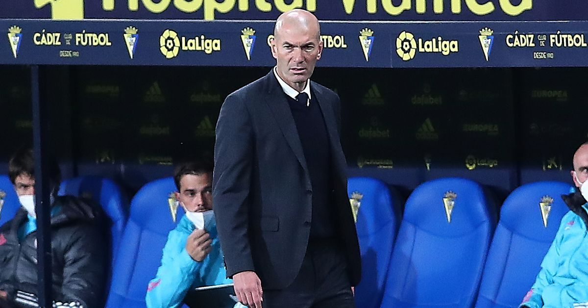 "Zidane: ""It would be illogical and absurd to disqualify Real Madrid from this Champions League"" - Managing Madrid"