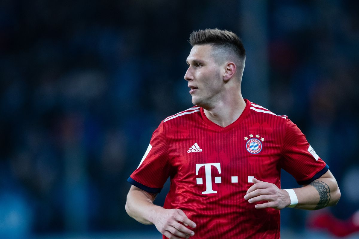 SINSHEIM, GERMANY - JANUARY 18: Niklas Suele of Muenchen looks on during the Bundesliga match between TSG 1899 Hoffenheim and FC Bayern Muenchen at PreZero-Arena on January 18, 2019 in Sinsheim, Germany.