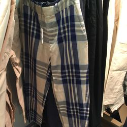 Danny pant in plaid, $172 (was $345)