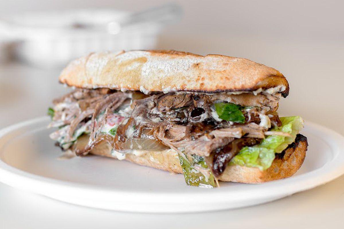 Paseo's Cuban Roast sandwich
