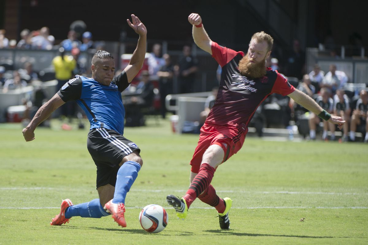 Quakes and Timbers played a very hard-fought game