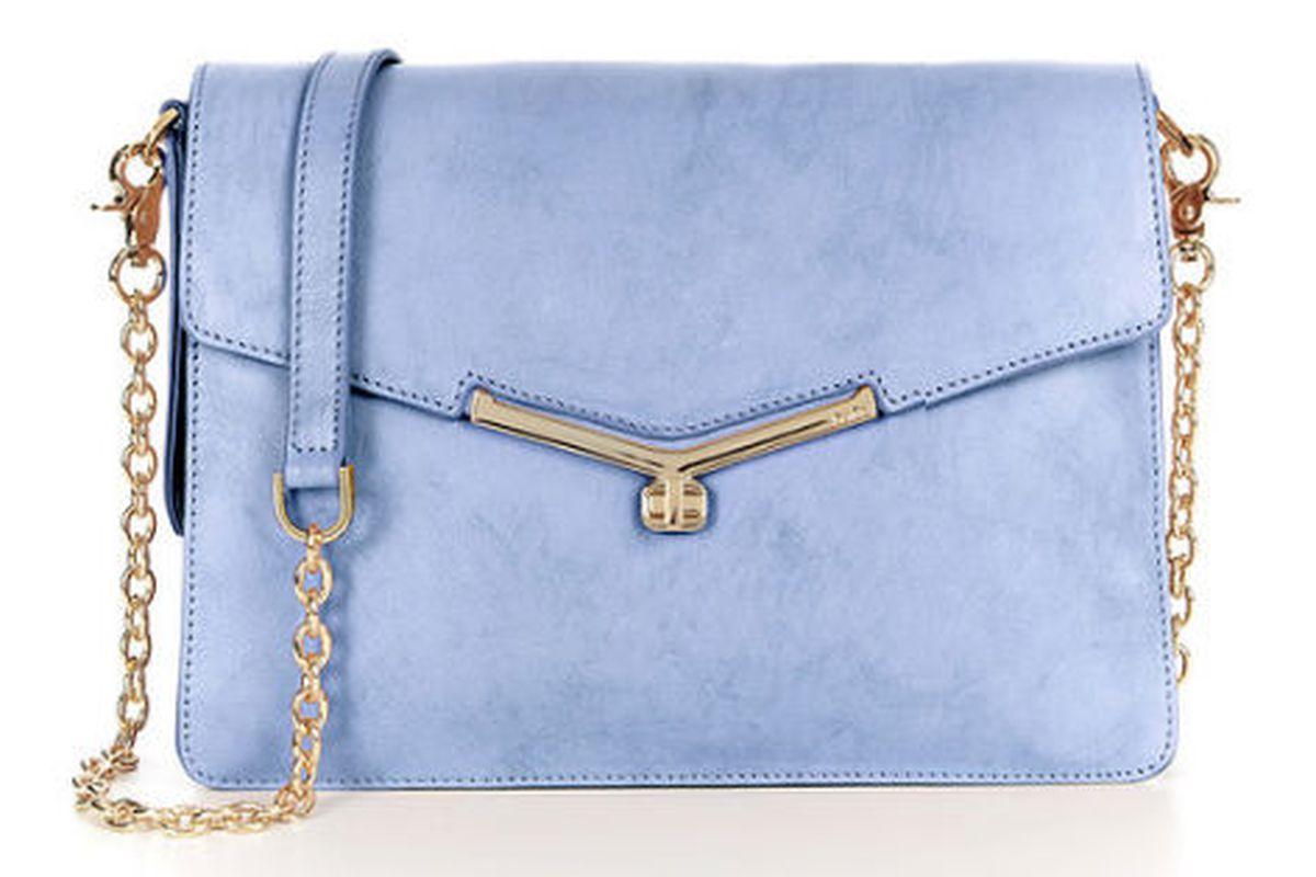 """Botkier's Valentina <a href=""""http://www.botkier.com/handbags/valentina-shoulder-sky"""">shoulder bag</a> in Sky"""