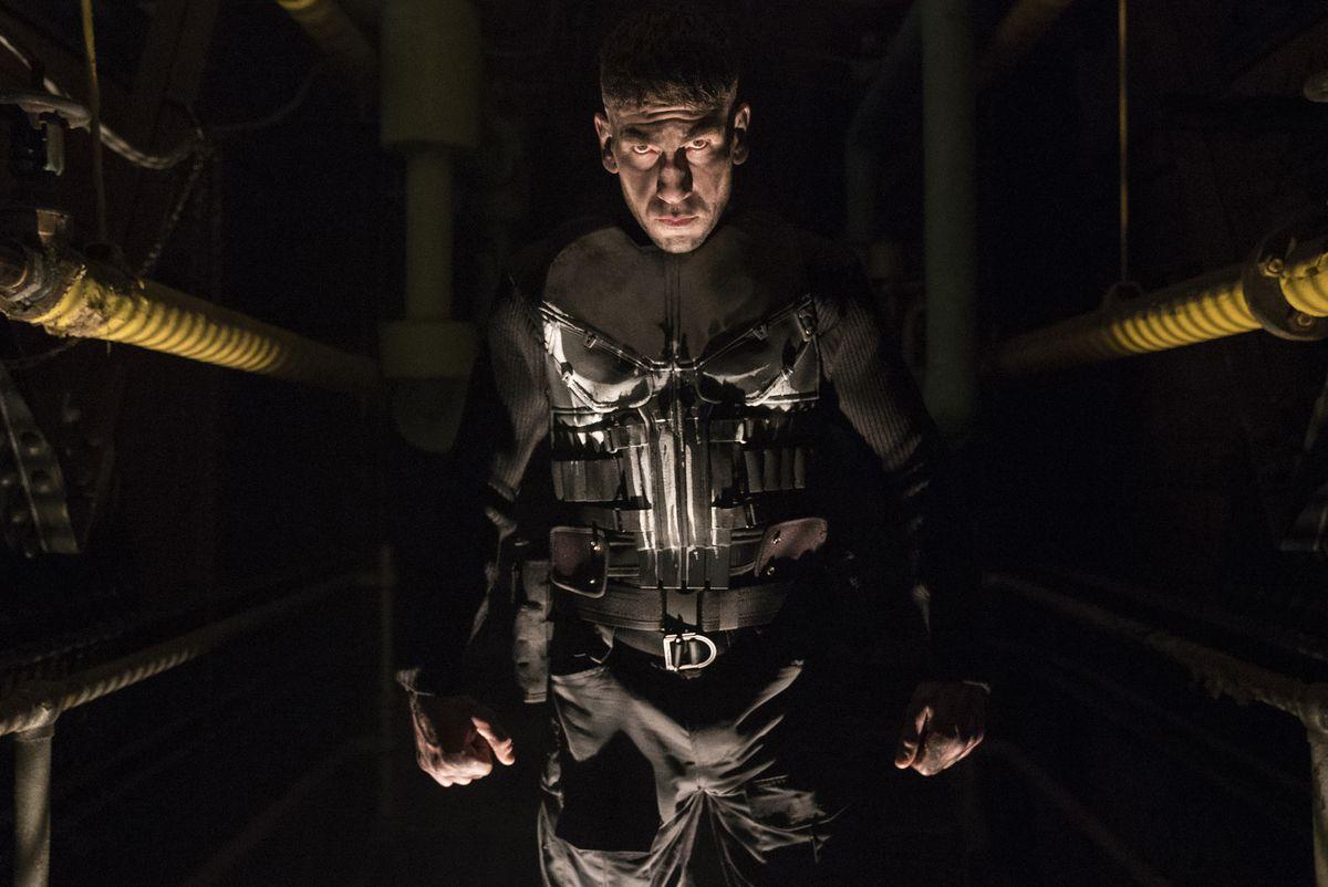 Jon Bernthal as Frank Castle in Marvel's The Punisher (2017), Netflix.