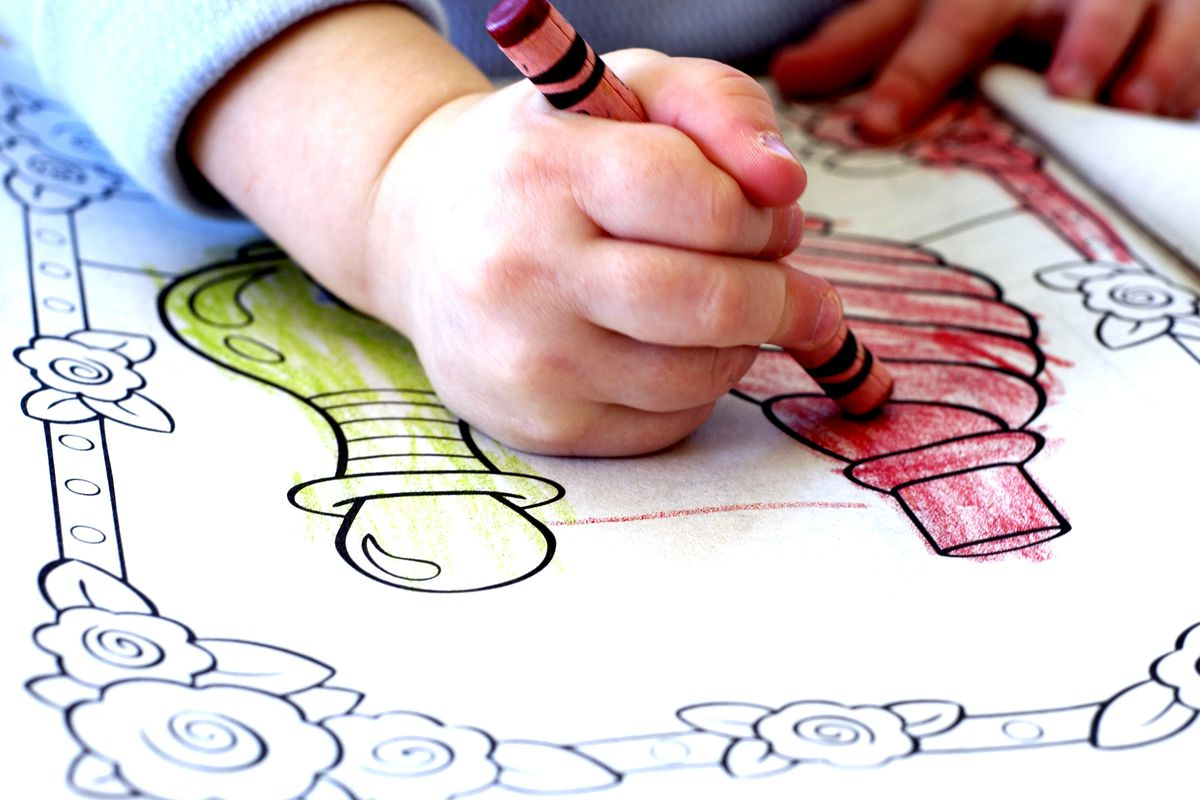 A Child Coloring Shutterstock