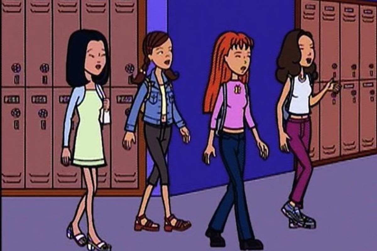 The Lawndale High Fashion Club from MTV's Daria