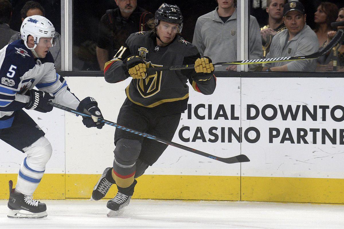 NHL: Winnipeg Jets at Vegas Golden Knights