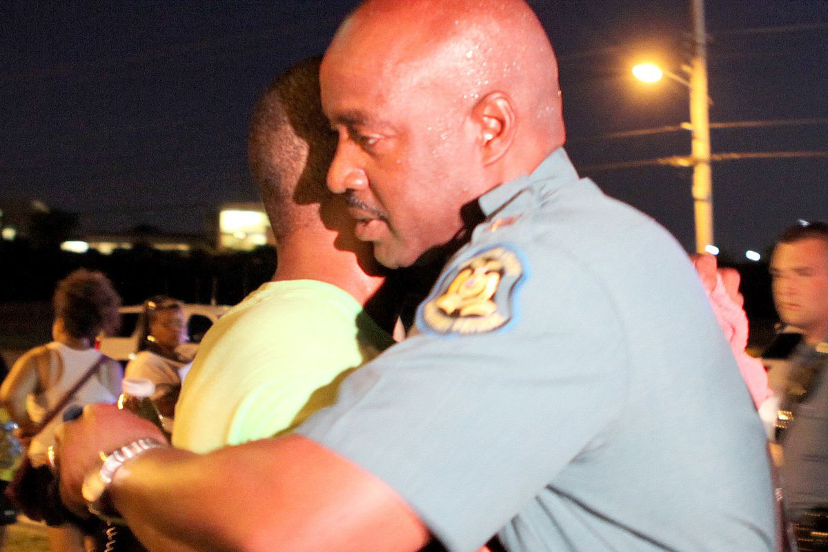 It takes more than hugs to fix police-community relations.
