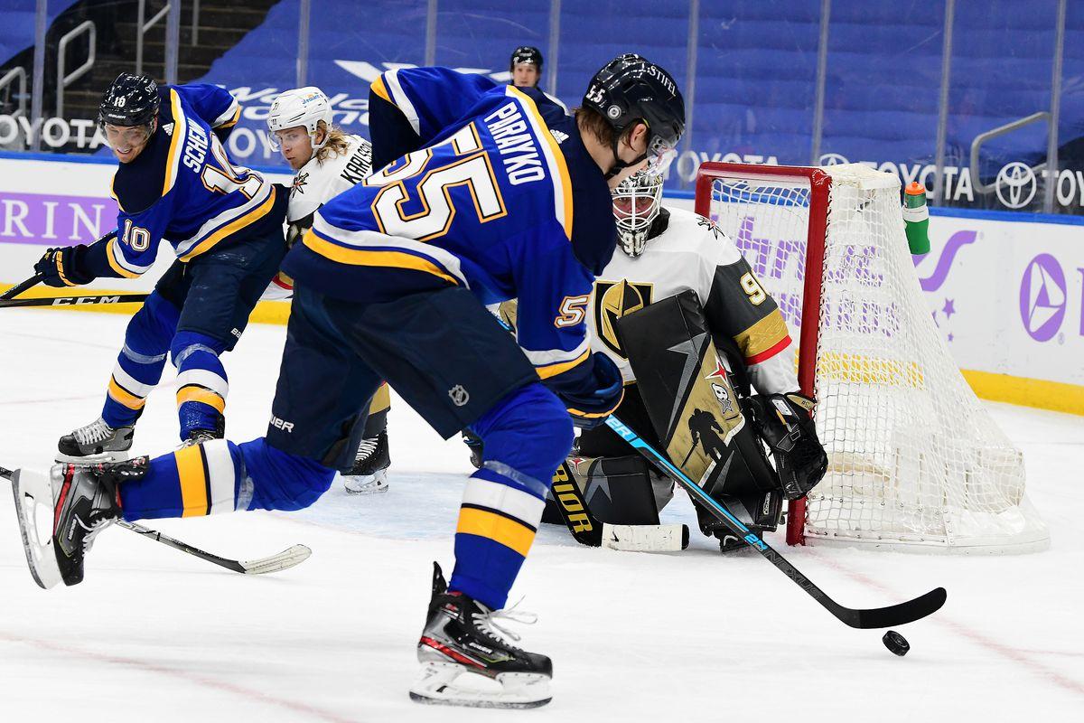 NHL: APR 05 Golden Knights at Blues