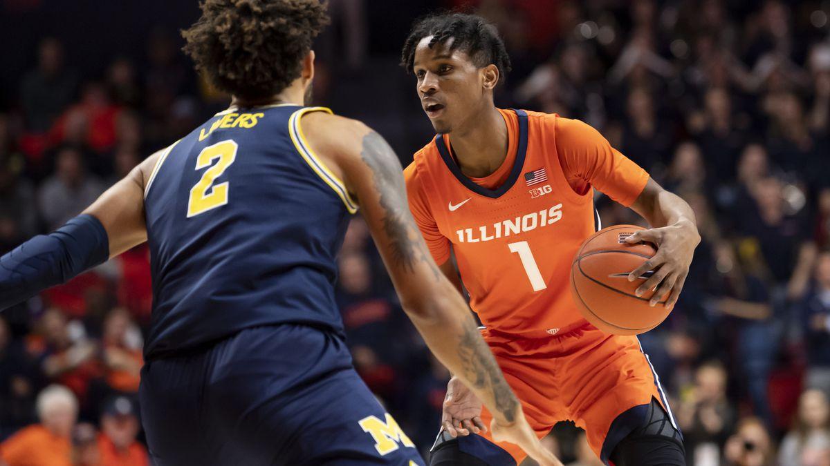 NCAA Basketball: Michigan at Illinois