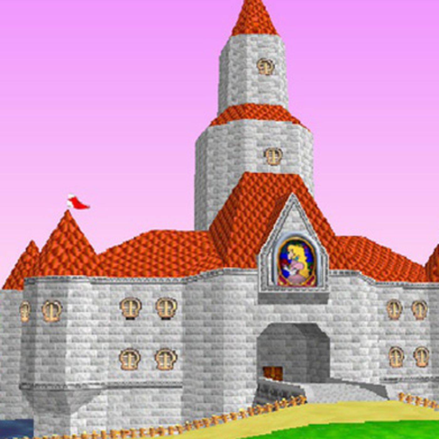Princess Peach S Mario Super Mario 64 Castle Would Be Worth