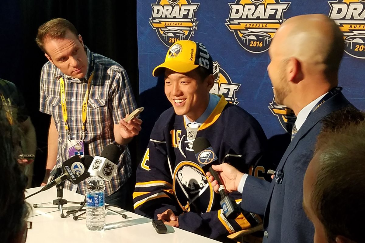 NHL Draft 2016  Sabres take Cliff Pu at  69 - Die By The Blade b592e4ed1c