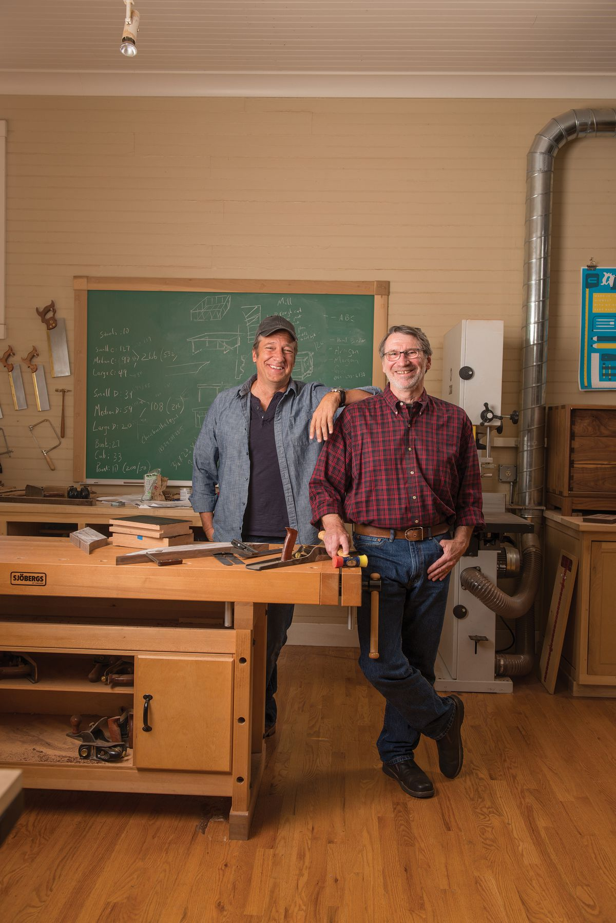 <p><em>Dirty Jobs</em> creator Mike Rowe and This Old House's Norm Abram got together to discuss raising awareness of and support for the mikeroweWORKS Foundation's Work Ethic Scholarship Program. </p>