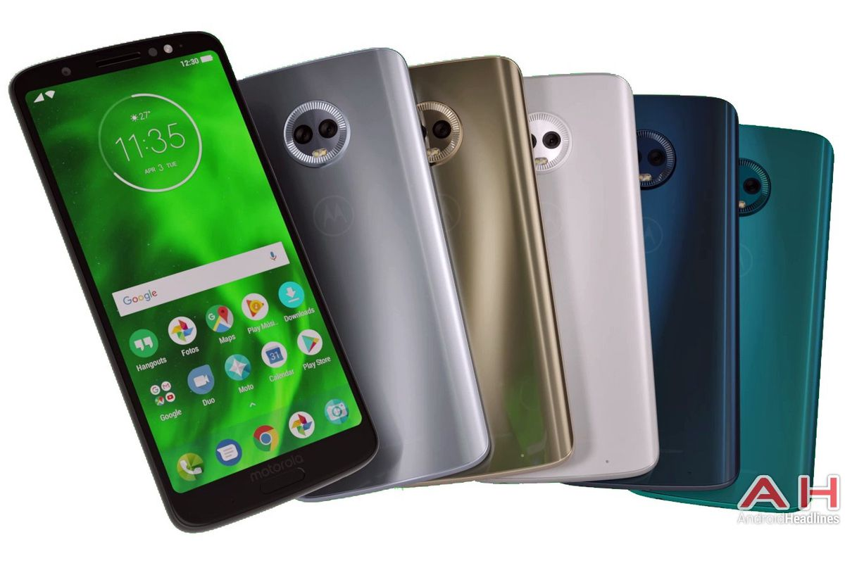 Leaked Moto G6 Plus renders depict five color variants - The Verge