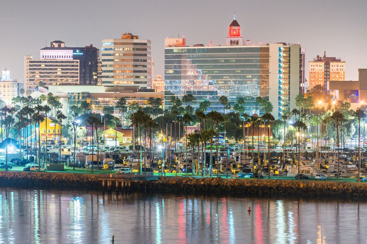 Downtown Long Beach Shutterstock