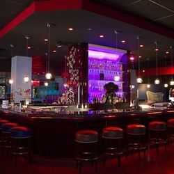 The bar at Drink & Drag.