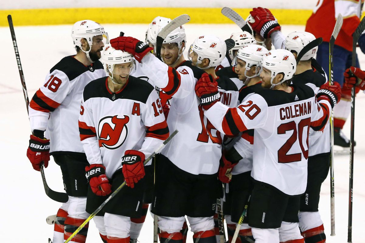 27438a0773d Devils Send Off the Season With an OT Win - All About The Jersey