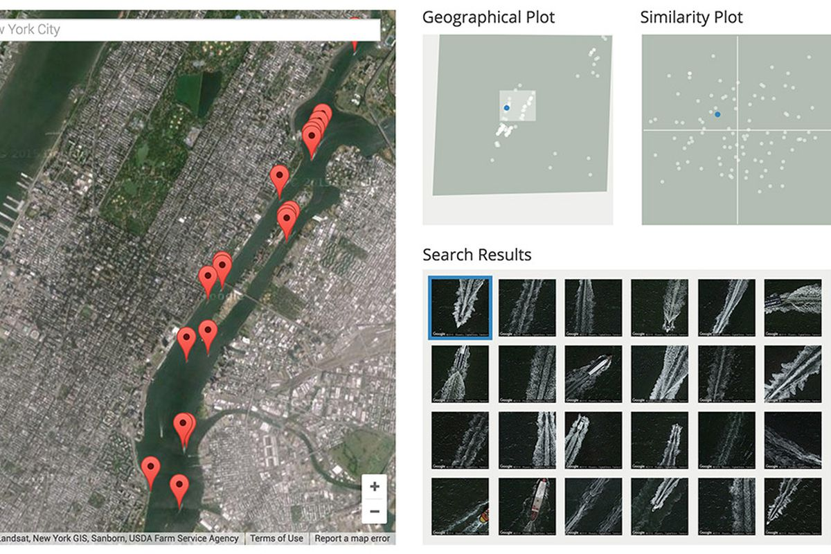 Terrapattern Is The First Openaccess Visual Search Engine For - Search satellite maps