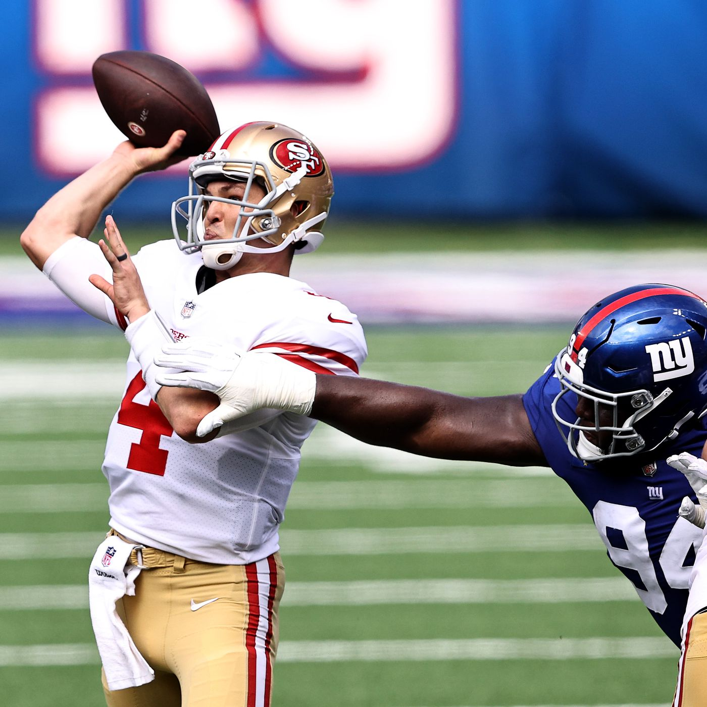 Golden Nuggets Shanahan Was Very Impressed With Mullens Very Efficient Day Niners Nation