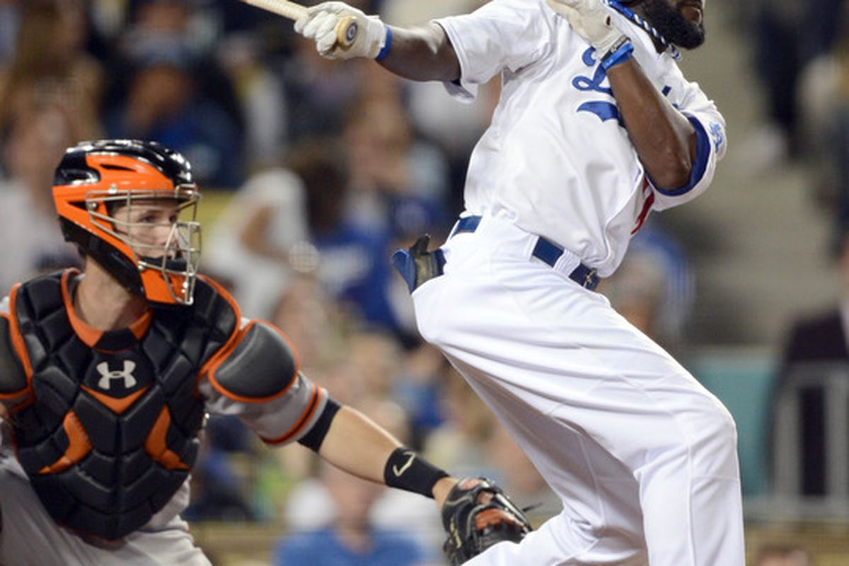 Tony Gwynn came through in a big way for the Dodgers on Wednesday night.