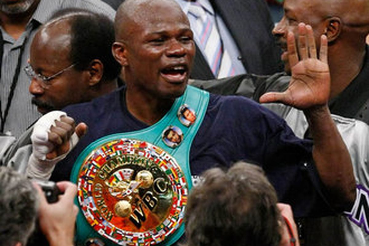 """The three men charged with murdering former welterweight champion Vernon Forrest will face the death penalty in Georgia. (Photo via <a href=""""http://images.sportinglife.com/08/09/330/Vernon-Forrest_1196150.jpg"""">images.sportinglife.com</a>)"""