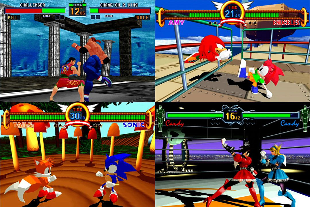 Sega Brings Virtua Fighter 2 Sonic The Fighters And Fighting Vipers To Ps3 Xbox 360 In Nov Polygon