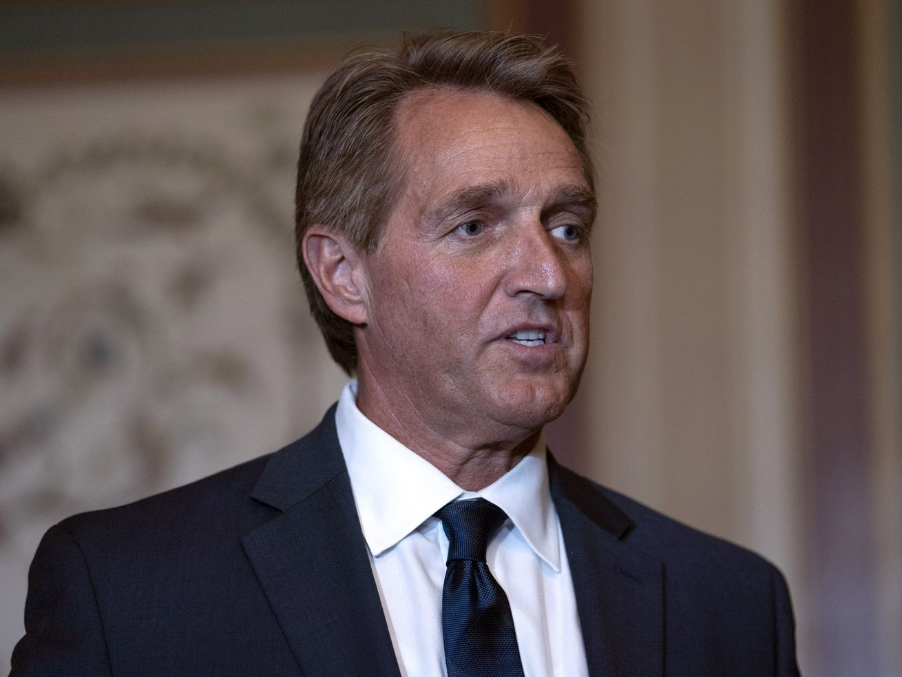 Jeff Flake says he'll block judicial nominees until Mueller protection bill gets a vote