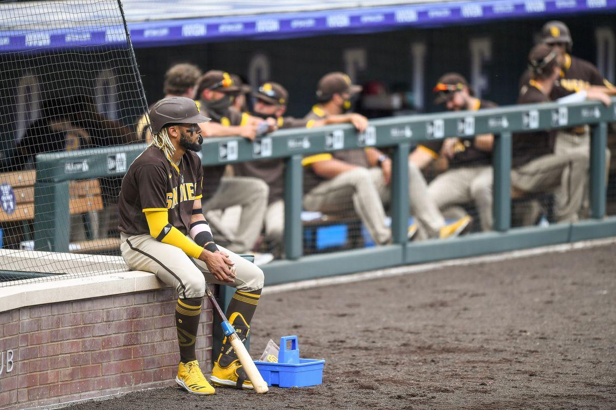 MLB: AUG 02 Padres at Rockies