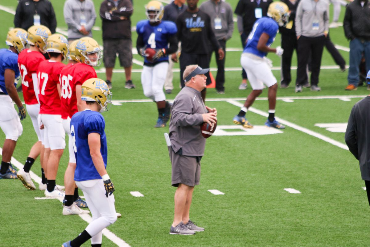 UCLA Football Spring Practice Resumes Tuesday, April 3rd - Bruins Nation
