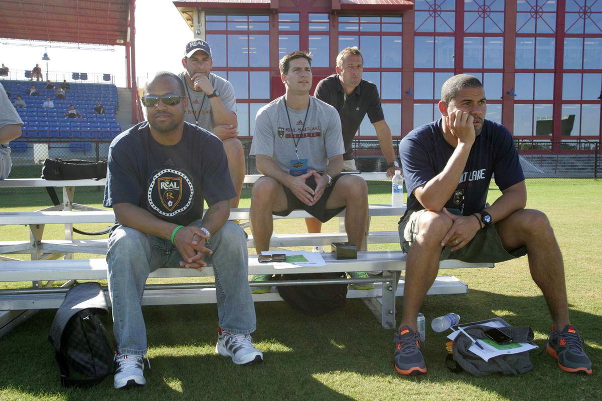 Tough choices had to be made by the RSL technical staff as the first cuts of the pre-season were made today.