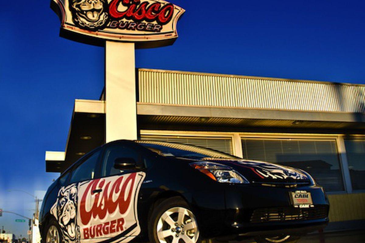 Cisco Burger in Long Beach.