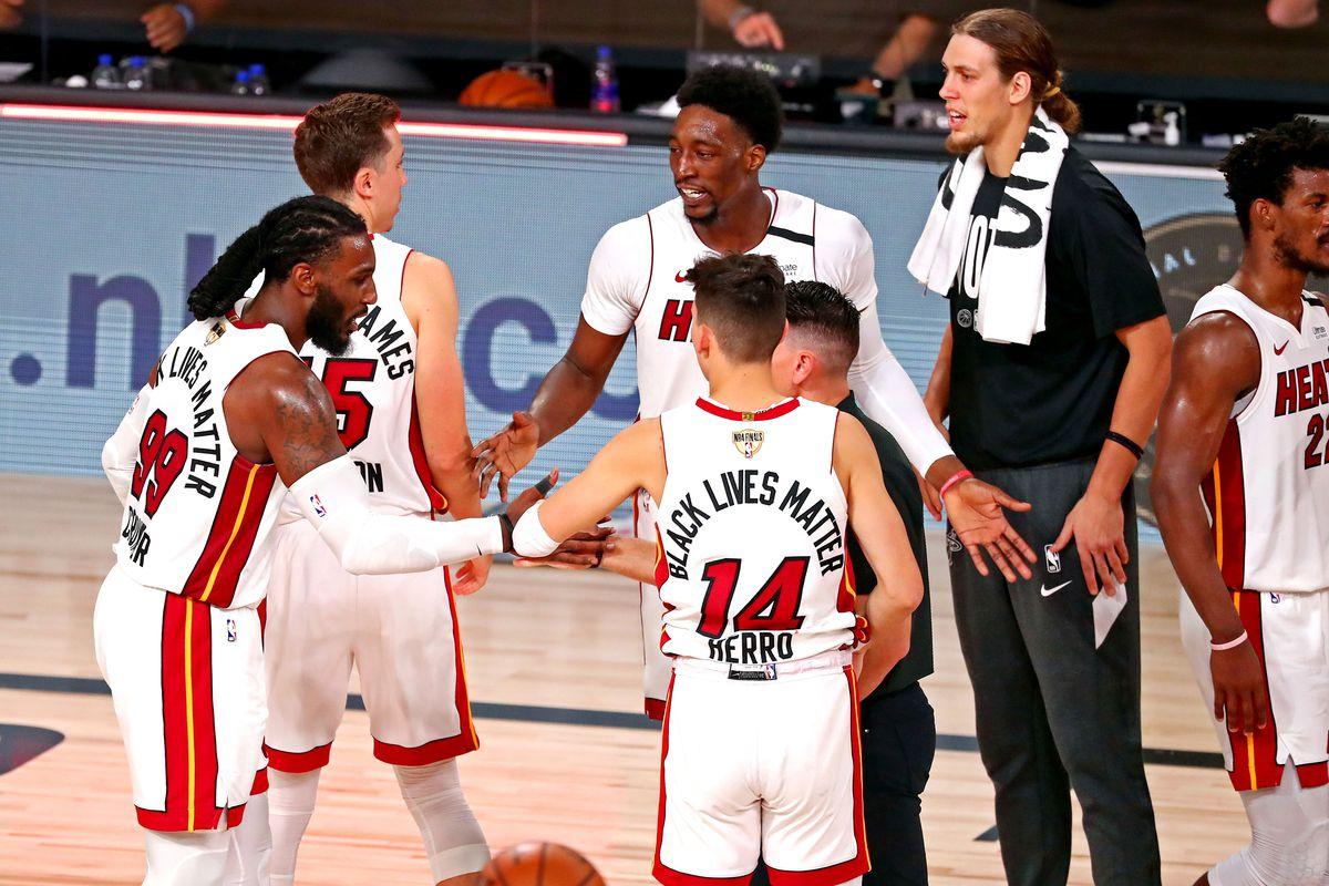 Gamethread Los Angeles Lakers Miami Heat Nba Finals Game 6 Hot Hot Hoops