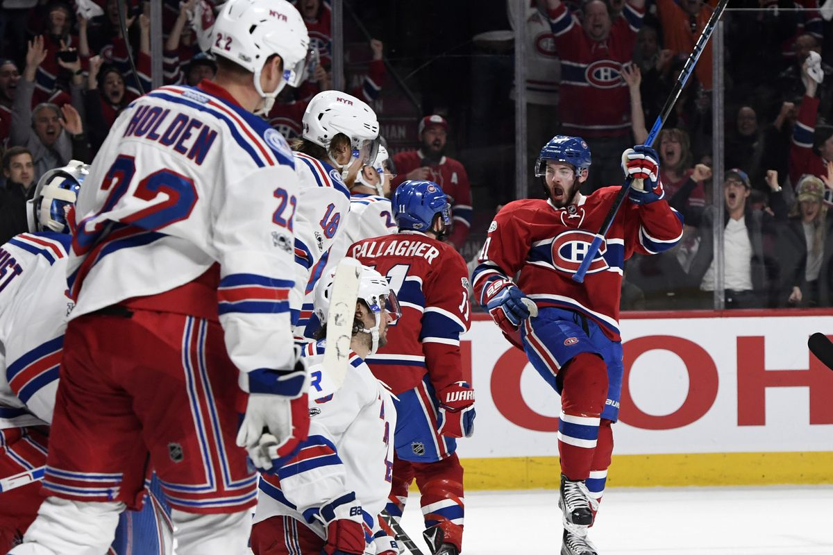 927d24a63 Canadiens vs. Rangers  Game thread