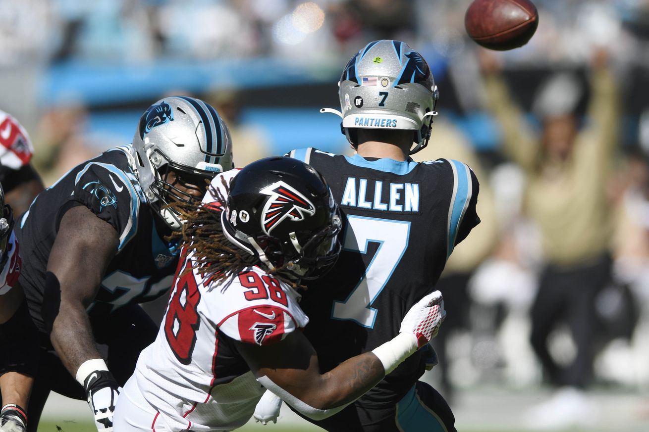 FALCONS VS. PANTHERS