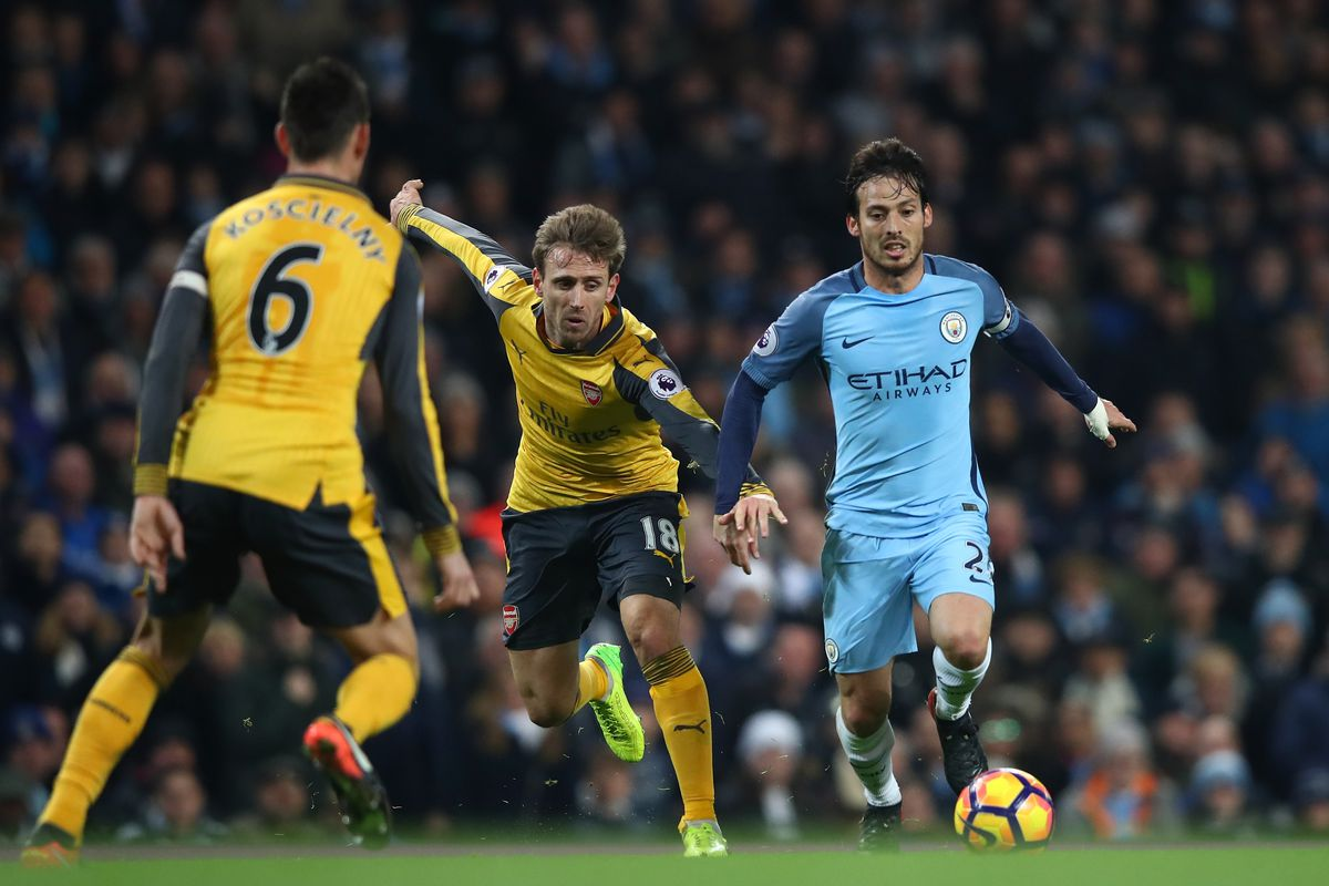 Manchester City run Arsenal ragged to move eight clear