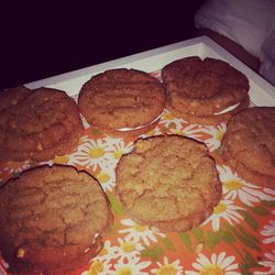 These salted peanut butter oatmeal and cream sandwiches were too good.